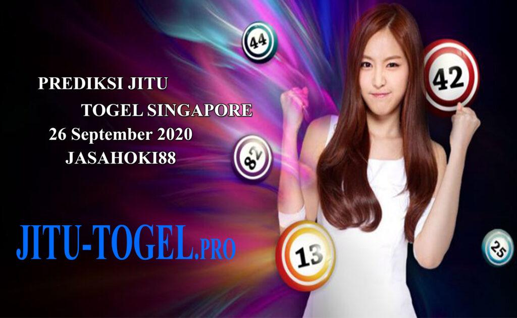 Prediksi Togel Singapore Sabtu 26 September 2020